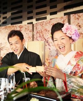 圭さんとあゆの和婚